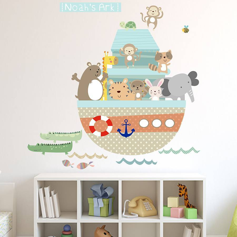 Letter Wall Decals For Nursery