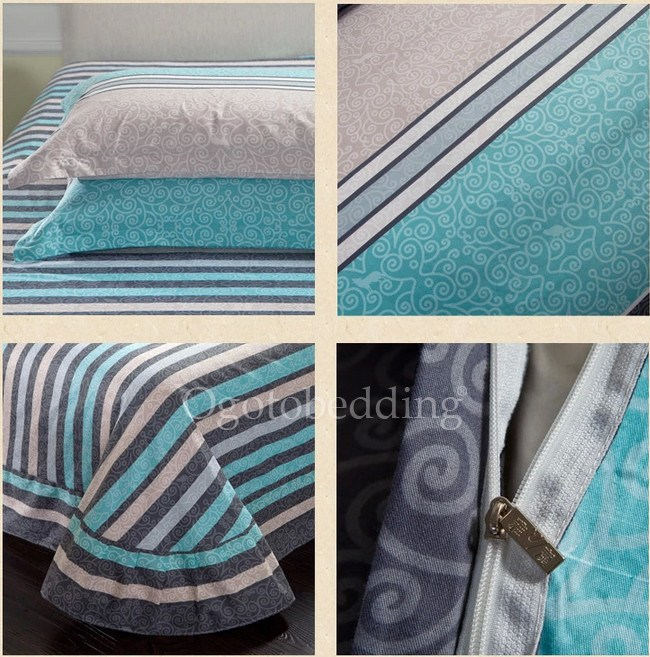 Light Blue Comforter Sets Full