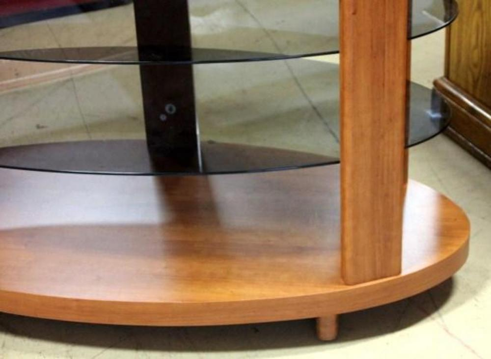 Oval Tv Stand Wood