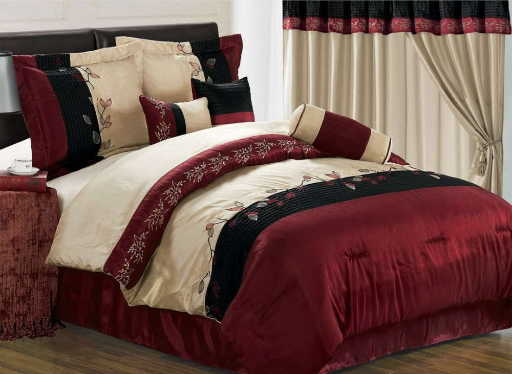 Red Comforter Sets Full