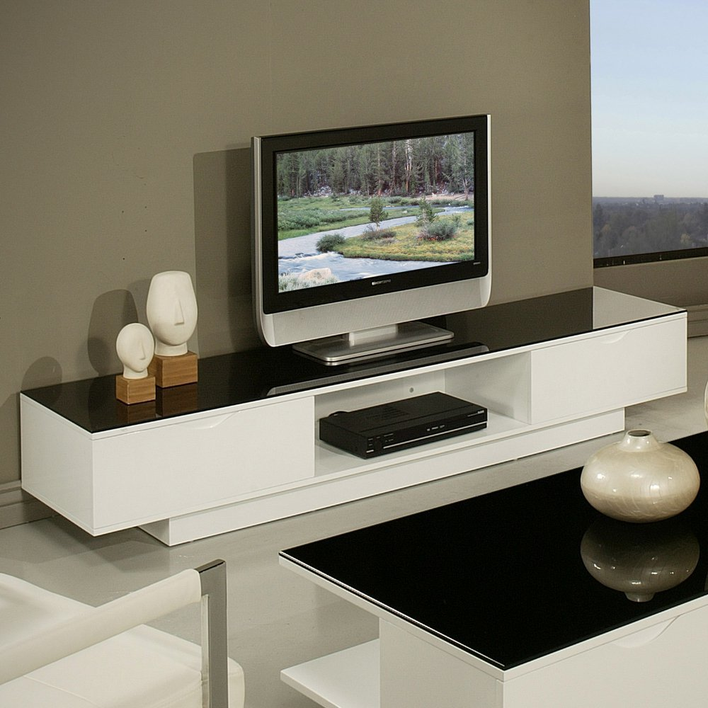 Tv Stand High Gloss Black